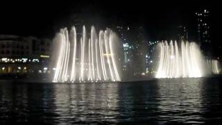 Dubai Fountain, Baba Yetu, Very Exciting