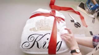 Как создаются изделия с именной вышивкой HALAT4U(, 2017-03-25T19:30:40.000Z)