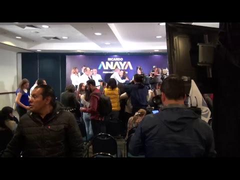 Conferencia de prensa Ricardo Anaya 19 de Abril