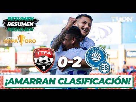 Resumen y goles | Trinidad y Tobago 0-2 El Salvador | Copa Oro 2021 | Grupo A | TUDN