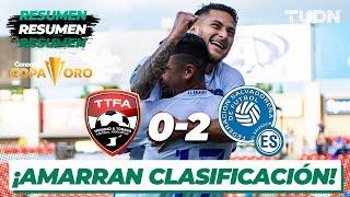 Resumen y goles | Trinidad y Tobago 0-2 El Salvador | Copa Oro 2021 | Grupo A