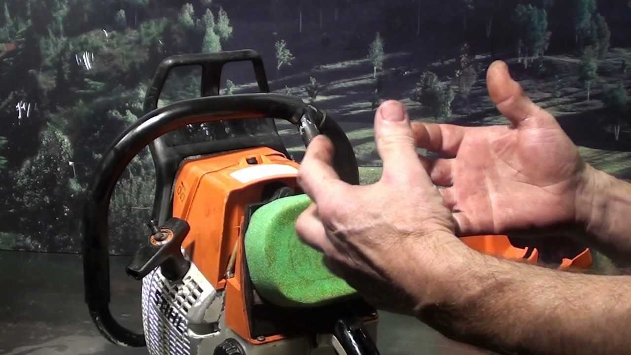 The chainsaw guy shop talk Modified Stihl MS 660 chainsaw 12 5