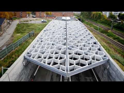 ZÜBLIN A/S - Project Nordhavnsvej: Drone Flight
