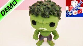 GRAPPIGE WIEBELPOP HULK - POP! Marvel - Figuren van de Avengers: Age of Ultron Nederlands