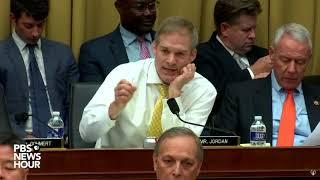 WATCH: Rep. Jim Jordan's full questioning of Corey Lewandowski | Lewandowski hearing