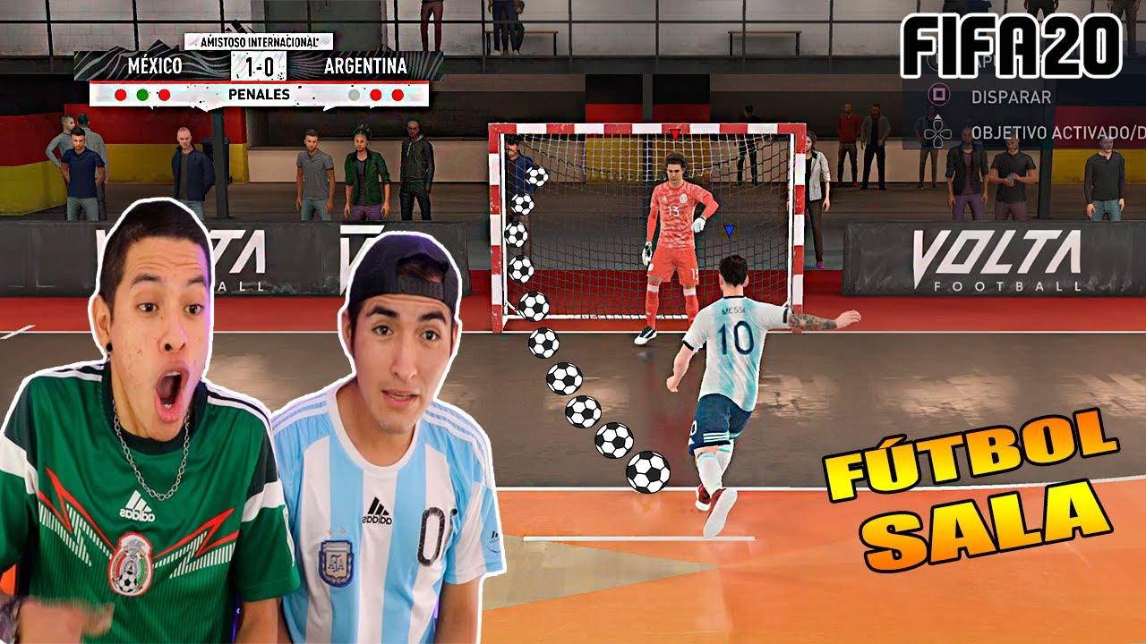 ARGENTINA vs MÉXICO ¡DUELO en FÚTBOL SALA! *vamos a PENALTIS*