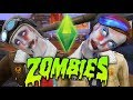 The Sims 4 ...but there's a ZOMBIE APOCALYPSE