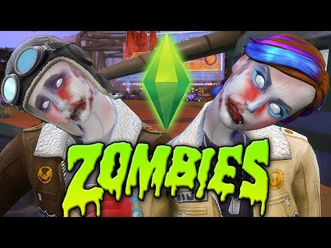 The Sims 4 ...but there's a ZOMBIE APOCALYPSE thumbnail
