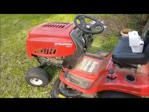 Murray lawnmower easy air filter change