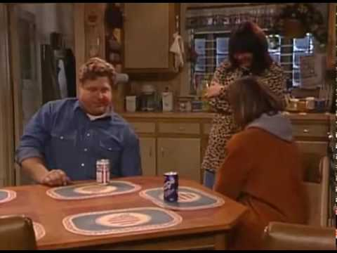 Roseanne Hits Dan With Frying Pan Montage