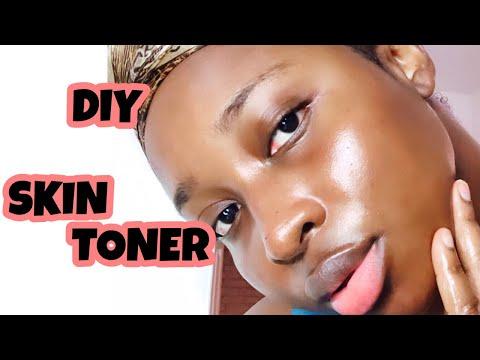DIY SKIN TONER - Lemon & Aloe Vera (stretch mark remover, acne cure, clear & glowing skin!