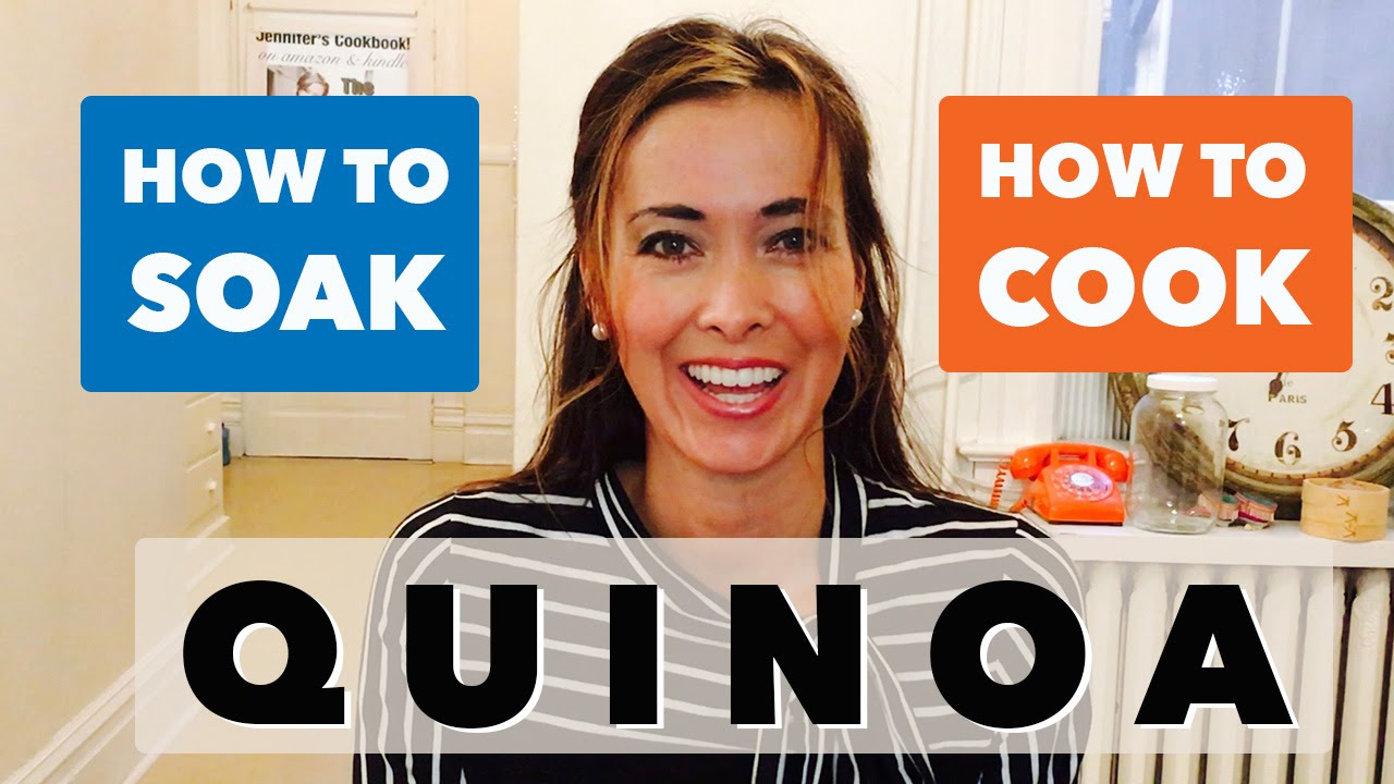 How To Make Quinoa  Best Fluffy Method By Soaking (no Frying)