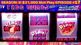 ACCIDENTAL $200 BETS !!😂 Hell's Bells 3 Reel Slot Machine Bonus | Season 3 | EPISODE #17