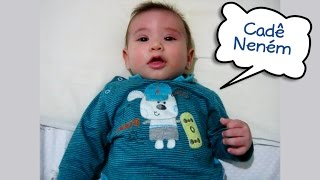 """Baixar Bebê de 4 meses falando """"Cadê neném"""". Este fala de verdade!"""