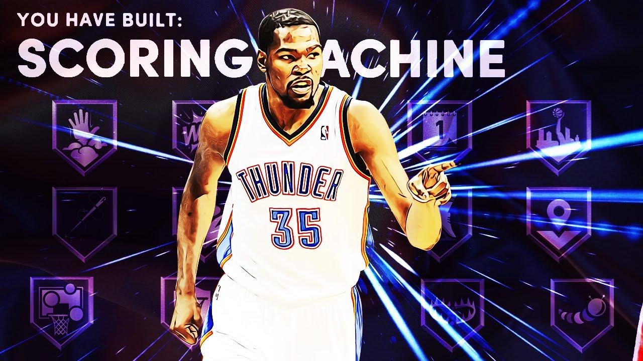THIS KEVIN DURANT BUILD HELPED ME ESCAPE ROOKIEVILLE!! (BEST SCORING MACHINE BUILD ON NBA 2K21!