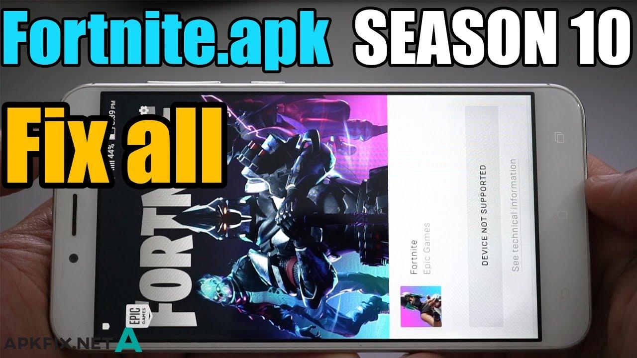 Fortnite APK Fix - APK Fix