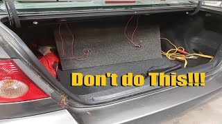 Video How Not to do Car Audio Episode 22 download MP3, 3GP, MP4, WEBM, AVI, FLV Januari 2018