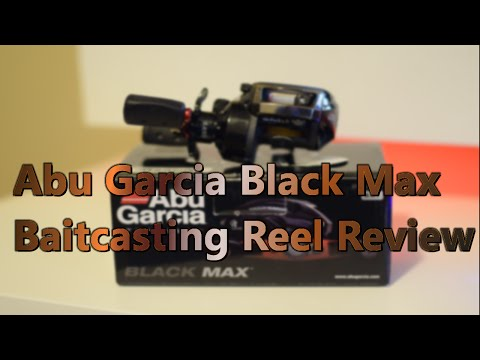 Abu Garcia Black Max Baitcaster Reel and Tec-Spec Black Rod Review