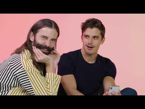 Queer Eye's Jonathan Van Ness and Antoni Porowski Swipe For A Tinder User | Swipe Session | Tinder