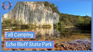 Echo Bluff State Park |  Fall Camping Missouri | RV Life