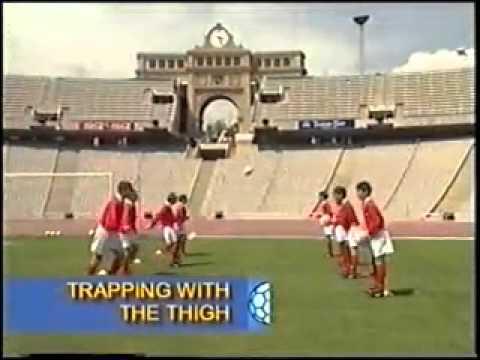 Уроки футбола. английская школа видеоуроки