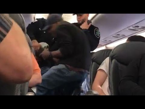 Airline Passenger Brutalized And Dragged Off Plane (VIDEO)