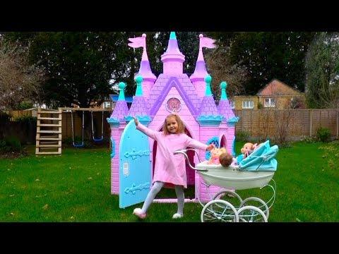 PlayHouse Замок Принцесс и КУКЛЫ /Тигр Амурчик/ LOL и Мои подарки на НЕ в День Рождения / Baby Dolls