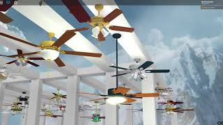 ROBLOX- Six's Famous Ceiling Fans (UPDATED 2/27/18)
