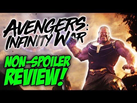 Avengers: Infinity War  - Quick Review! (non-spoiler)