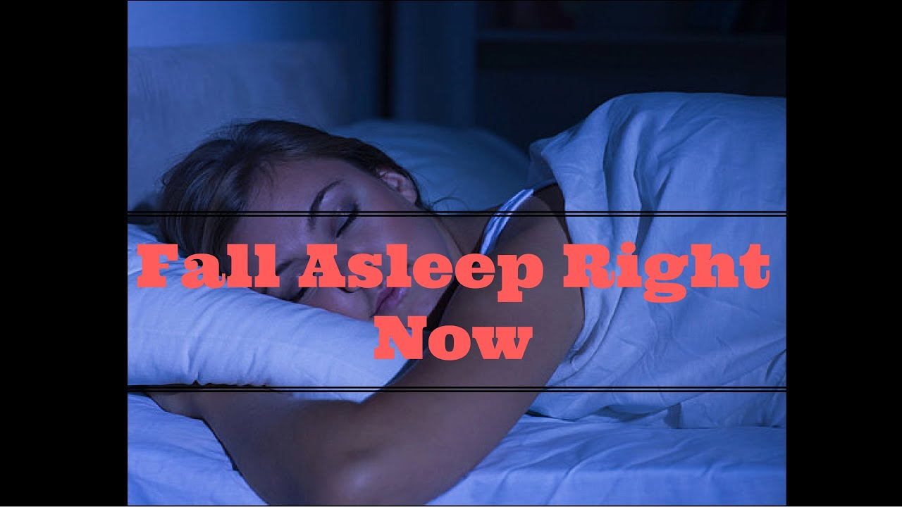 Fall Asleep Right Now  How To Sleep Faster  Sleep Hacks