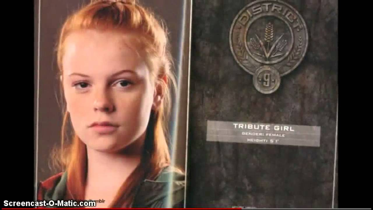 The hunger games tributes 1-12 - YouTube