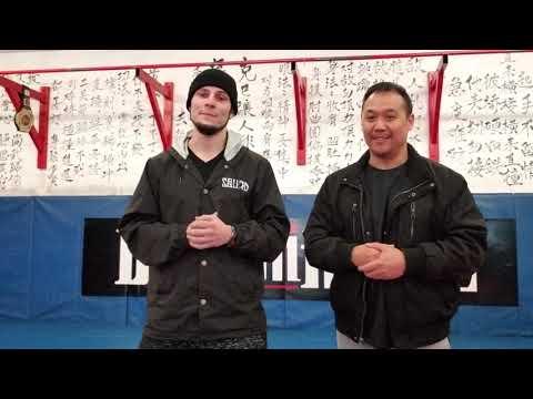 Dragon House 31 Alan Benson Pre fight interview.