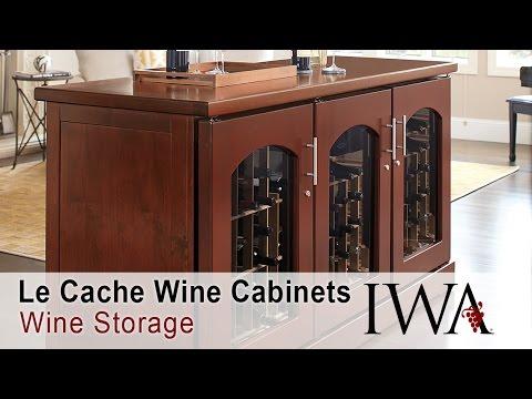 La Cache Wine Credenza : Sonoma lux credenza wine cabinet traditional and bar