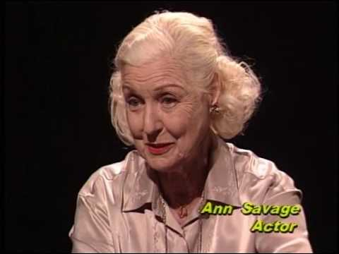 Ann Savage--Rare TV Interview, Detour
