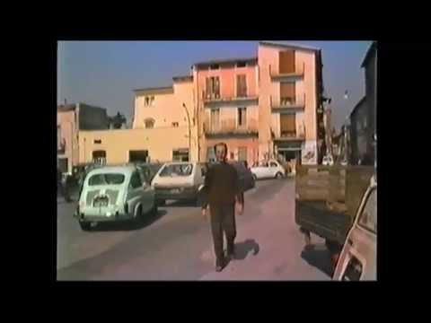Fondi, 1985, Piazza Porta Vescovo.