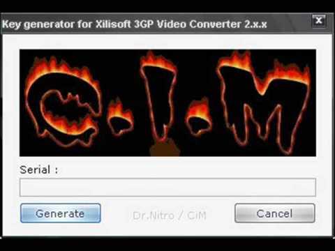 CiM - Xilisoft 3GP Video Converter - Keygen Music