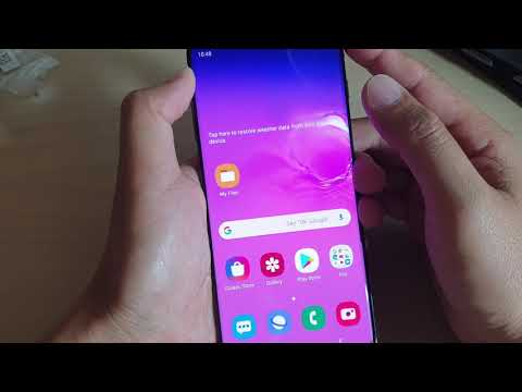 Samsung Galaxy S10 / S10+: How To Enable / Disable NFC And Payment