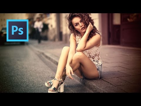 Classic Vintage LookUp Color Effect Tutorial Photoshop CS6