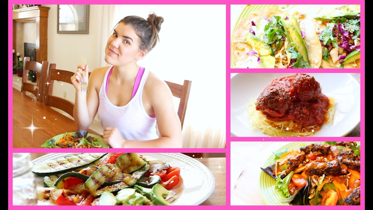 Simple healthy dinner ideas youtube for Easy things to make for dinner for two