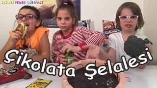 Junior Park tan Ata Berk Mutlu ve Zeynep ile Çikolata Şelalesi Oynuyoruz - Eğlenceli Çocuk Videosu