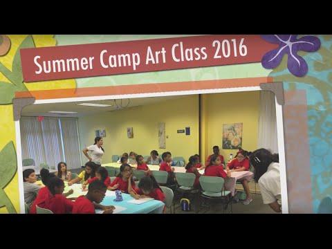 North Miami Beach Public Library - Summer Art Program 2016