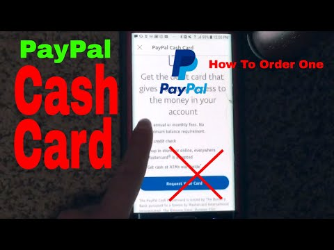 ✅  How To Order Paypal App Cash Card Tutorial 🔴