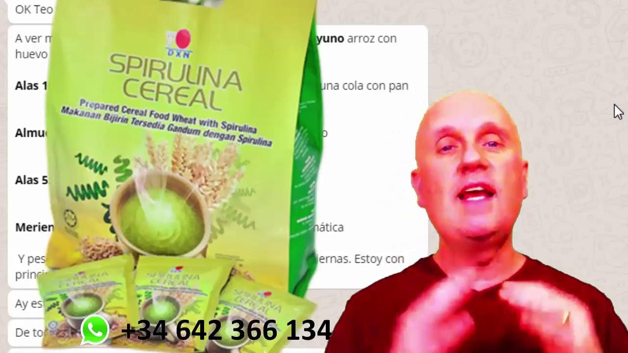 Espirulina dieta para bajar de peso