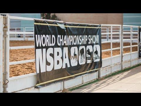 NSBA World Show - Sunday, 8/12 Mustang Arena 8:00 AM