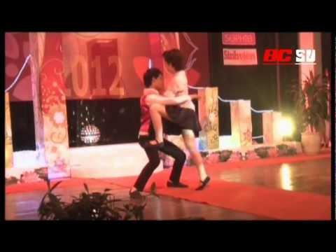 Múa dân gian và nhảy hiện đại [Chung kết SV Tài năng thanh lịch 2012]