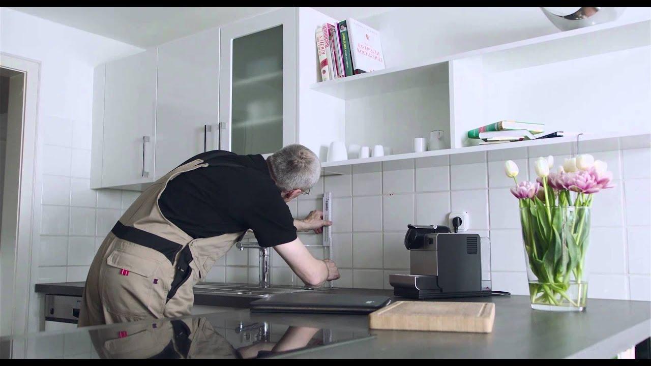 rauvisio crystal lasimaisen laminaatin asennusvideo youtube. Black Bedroom Furniture Sets. Home Design Ideas
