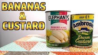 Bananas & Custard - Weird Stuff In A Can #126