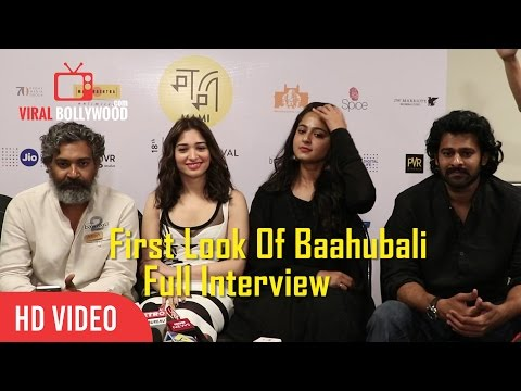 In Conversation With Team Baahubali 2 – The Conclusion | Prabhas, S. S. Rajamouli, Anushka Shetty
