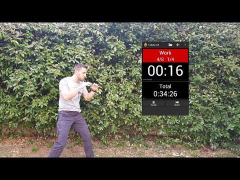 Explication vidéo de la séance technique de Krav-Maga en Tabata