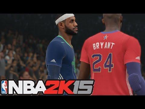 NBA 2k15 Blacktop | Kobe Bryant vs Lebron James | Who w... | Doovi